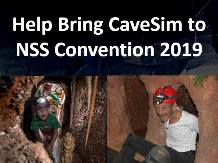 NRMG Donates to help CaveSim attend NSS Convention 2019