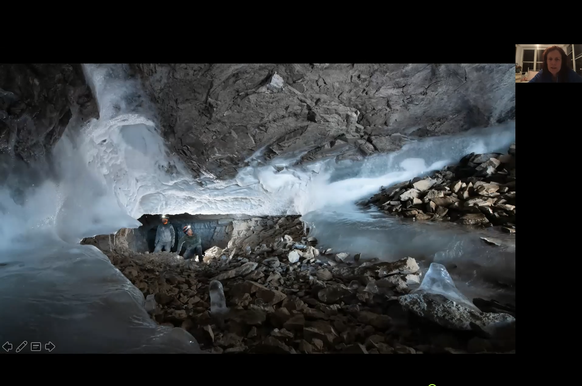 Northernmost and Coldest Caves in the World: Greenland Caves Project (Hazel Barton)